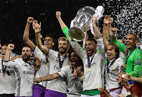 UEFA xếp Real là CLB số một trong lịch sử