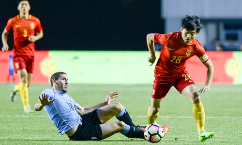 Đội U20 Trung Quốc chuẩn bị dự giải hạng bốn của Đức