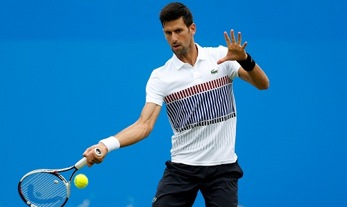 Djokovic thắng trận đầu tiên tại Eastbourne