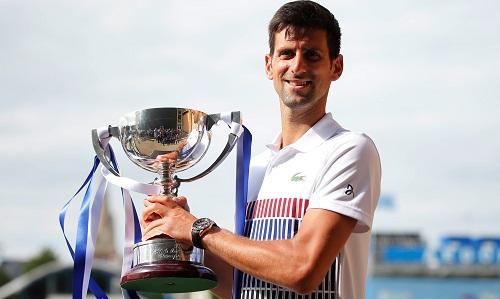 Djokovic đăng quang ở giải tiền Wimbledon