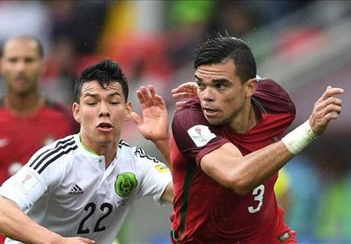 Bồ Đào Nha giành giải ba Confed Cup, dù vắng Ronaldo