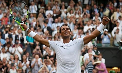 Nadal thắng trắng ba set ở vòng hai Wimbledon