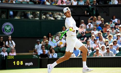 Nadal thẳng tiến vào vòng bốn Wimbledon