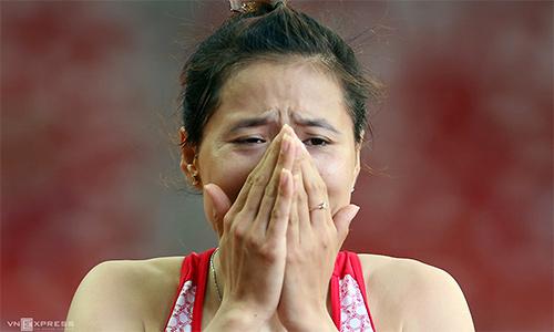 Điền kinh Việt Nam giành HC bạc châu Á 4x400m tiếp sức nữ