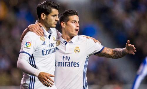 Modric cảnh báo Morata và James về nguy cơ tuột dốc nếu rời Real