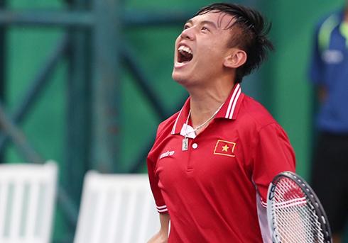 Hoàng Nam vào tứ kết đơn, chung kết đôi giải nhà nghề Trung Quốc