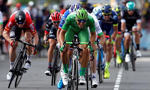 Xem nước rút như trò lego, Kittel lại về nhất ở Tour de France 2017