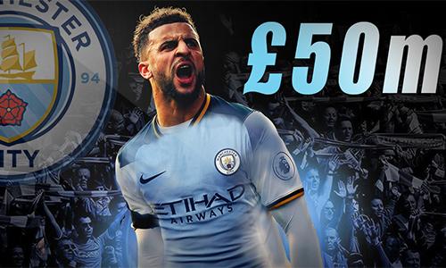 Man City chốt mua hậu vệ của Totteham với giá kỷ lục thế giới