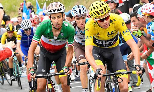 """Aru """"xé"""" Áo Vàng của Froome ở chặng 12 Tour de France 2017"""