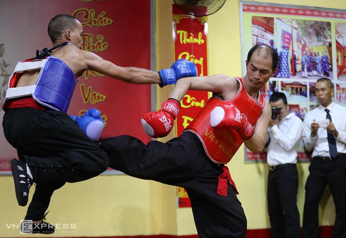 Bên trong võ đường của Nam Huỳnh Đạo