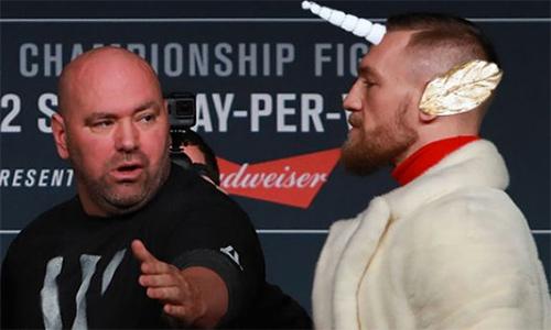Chủ tịch UFC gợi ý McGregor về cách đánh bại Mayweather