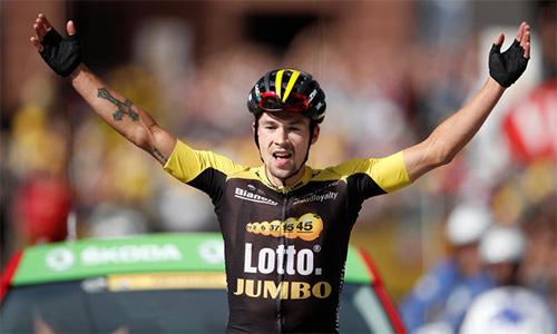 Cựu vô địch ski-jumping trẻ thế giới nhất chặng 17 Tour de France