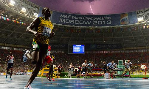 Usain Bolt dự hai nội dung ở giải đấu cuối sự nghiệp