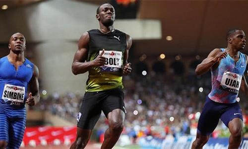 Usain Bolt lần đầu chạy 100 mét dưới 10 giây năm 2017