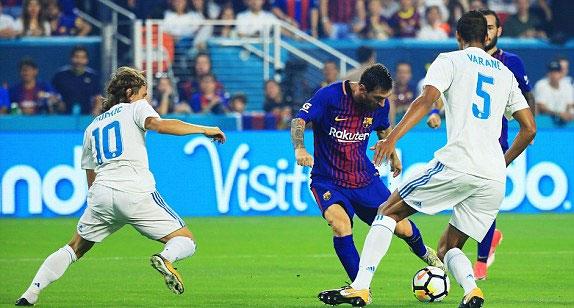 Đánh bại Real, Barca vô địch giải ICC tại Mỹ