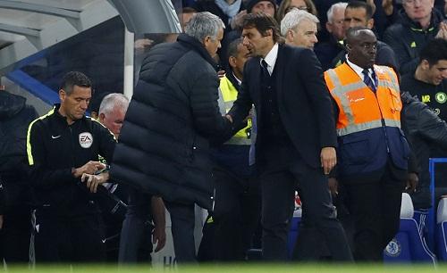 Mourinho không muốn rụng một sợi tóc vì Conte