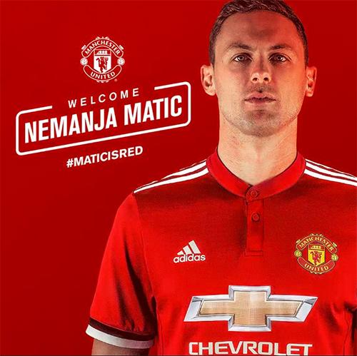Man Utd mua xong Matic từ Chelsea