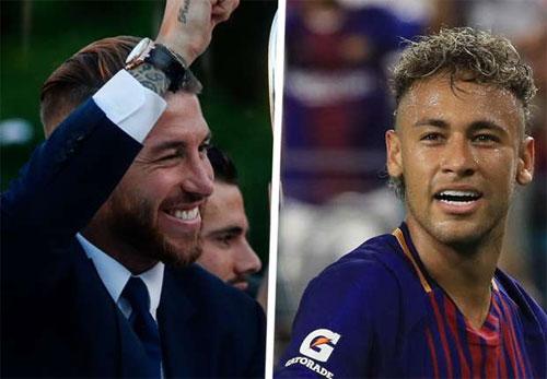 "Ramos: ""Tôi hy vọng Neymar chia tay Barca"""