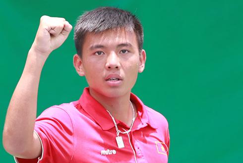 Lý Hoàng Nam vào tứ kết giải F4 Thái Lan