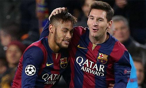 Messi gửi thông điệp từ biệt Neymar
