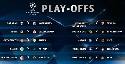 Liverpool và Napoli gặp khó ở play-off Champions League