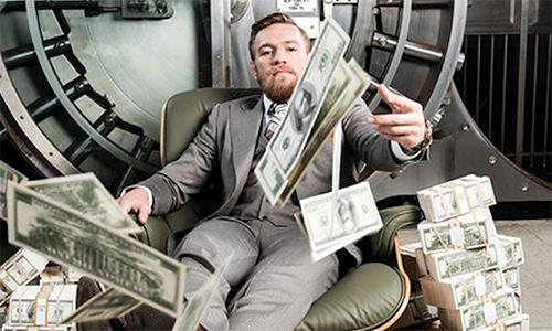 McGregor tự đặt cược 1,17 triệu đôla vào cửa thắng Mayweather