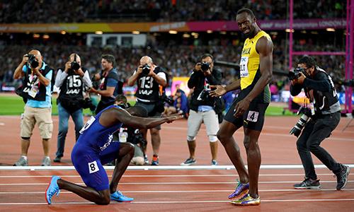 Usain Bolt thất bại trong lần cuối thi chạy 100m