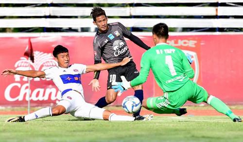 Thái Lan quyết tâm thâu tóm bốn HC vàng bóng đá tại SEA Games