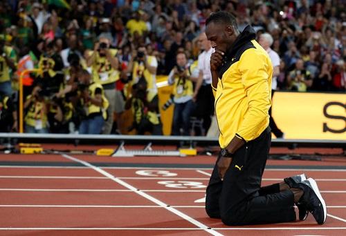 """Usain Bolt: """"Một thất bại không thể thay đổi những gì tôi đã làm"""""""