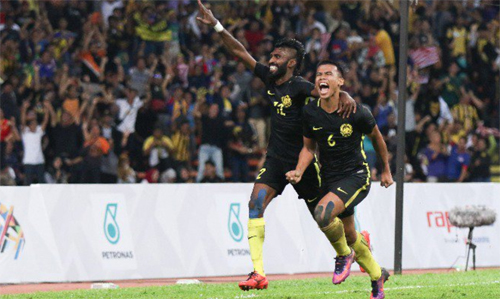 Malaysia lần đầu tiên thắng Singapore sau 14 năm ở SEA Games