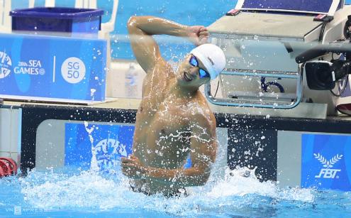 Hoàng Quý Phước vượt kỷ lục khi chuẩn bị cho SEA Games 29