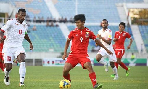 Aung Thu vượt Công Phượng, Myanmar vào bán kết SEA Games