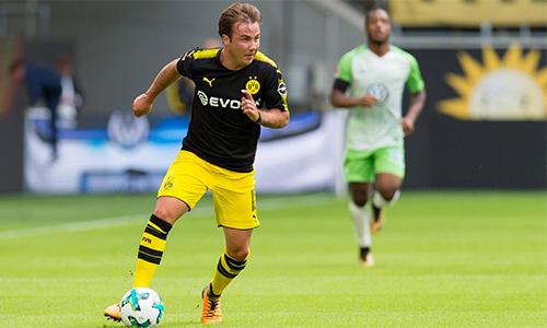 Dortmund mừng Gotze trở lại bằng trận thắng đậm