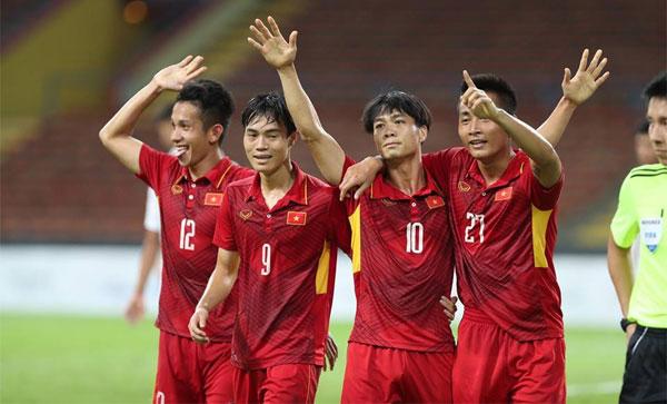 Việt Nam trận thứ ba ghi bốn bàn vào lưới đối thủ ở SEA Games