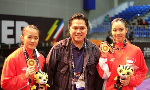 Chủ tịch Inter tới ủng hộ wushu Indonesia ở SEA Games