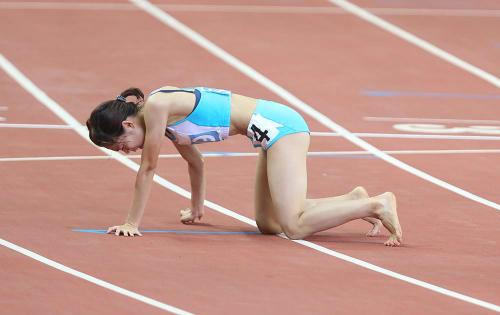 Cô gái chân đất của điền kinh Việt Nam ở SEA Games