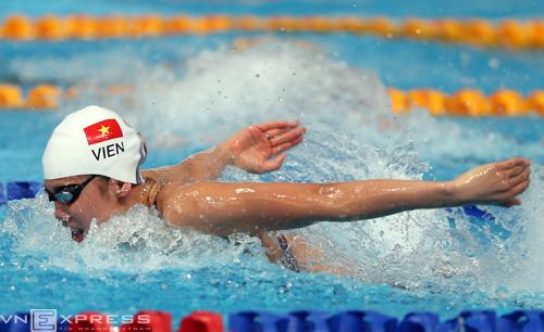 Vì sao Ánh Viên phải bơi ở làn bất lợi tại SEA Games