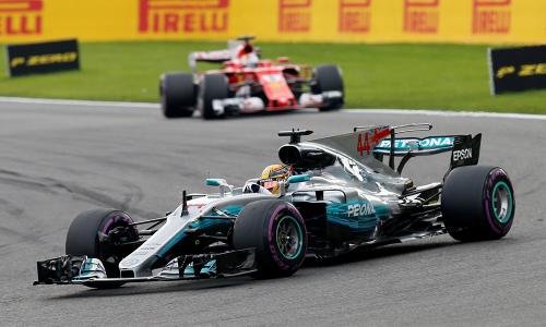 Lewis Hamilton thắng dễ tại Spa-Francorchamps