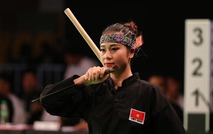 'Hoa khôi pencak silat' lỡ cú đúp huy chương SEA Games 29