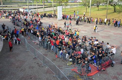 Bạo động vì vé chung kết Thái Lan - Malaysia