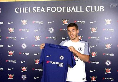 Chelsea ký hợp đồng với cầu thủ thứ ba của nhà Hazard