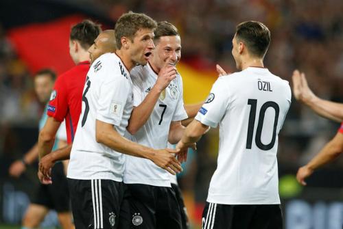 Đức đè bẹp Na Uy, tiếp tục toàn thắng vòng loại World Cup