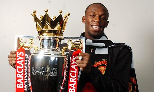 """Usain Bolt: """"Man Utd sáng cửa vô địch Ngoại hạng Anh"""""""