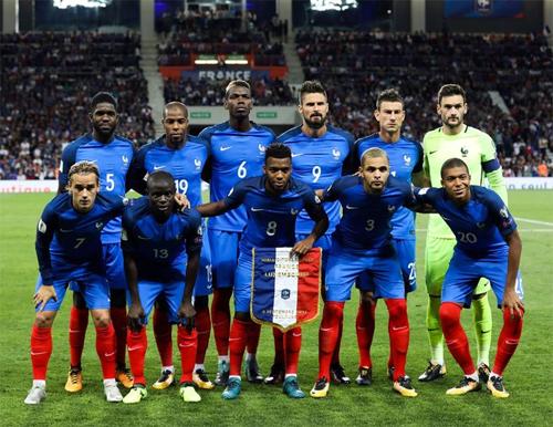 Tuyển Pháp xếp số một thế giới về tổng mức giá cầu thủ
