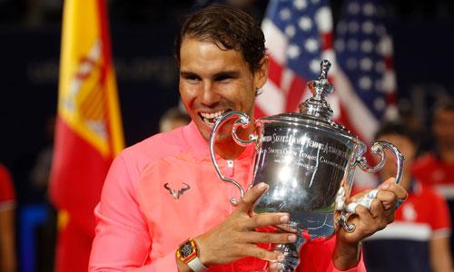 Nadal không quá bận tâm đến việc vượt Federer