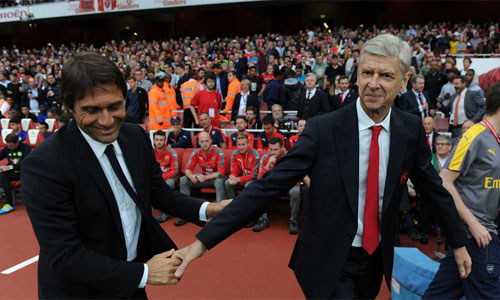 """Conte: """"Arsenal là ứng viên vô địch Ngoại hạng Anh"""""""
