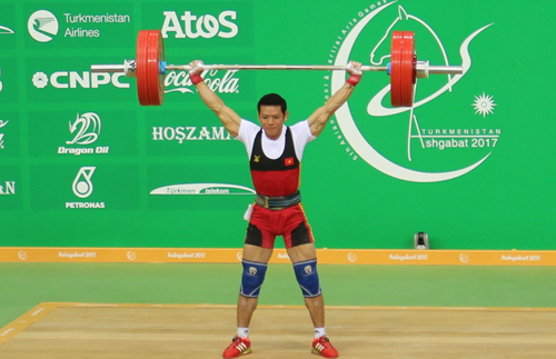 Thạch Kim Tuấn giành HC vàng đầu tiên cho Việt Nam ở AIMAG 2017