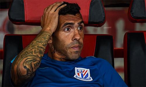 """Tevez: """"Bóng đá Trung Quốc không thể khá hơn trong 50 năm tới"""""""