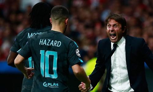 Conte khen Chelsea cá tính sau cuộc ngược dòng trước Atletico