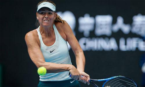 Sharapova lần đầu thua Halep, dừng bước ở Trung Quốc Mở rộng